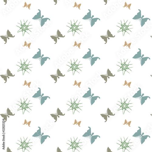 papier peint papillons d co nordique de maud tal que fichier vectoriel libre de droits. Black Bedroom Furniture Sets. Home Design Ideas
