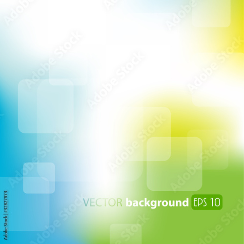 Green, blue abstract background