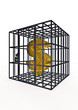 Caged dollar