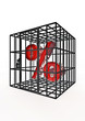 Caged percentage
