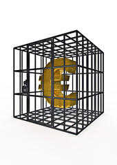 Caged euro