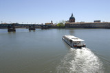 Sightseeing Boat on the Garonne river