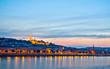 Night panorama of Buda with Matthias Church