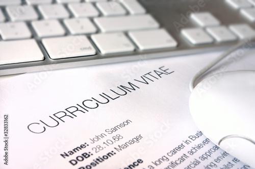 cv job application