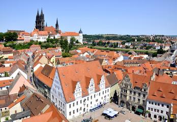 Meißen Dom und Albrechtsburg