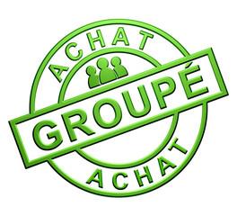 """""""Achat Groupé"""" (vert)"""