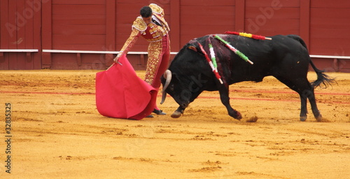 Leinwanddruck Bild Matador