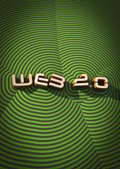 web 2.0 title background