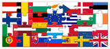 European Union Jigsaw Puzzle (flags countries eu member states)