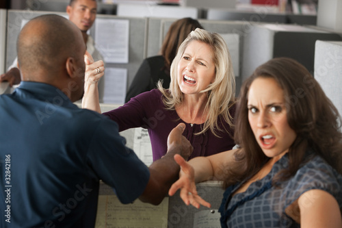 Arguments Between Coworkers