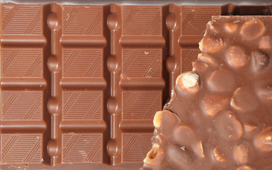 Milk Chocolate with nuts