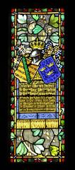 Glasfenster Ritter