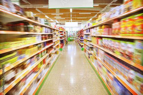In de dag Boodschappen Supermarket