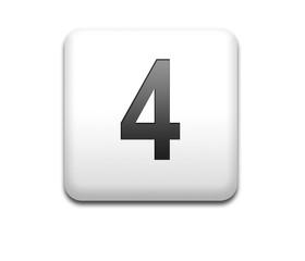 Boton cuadrado blanco numero 4