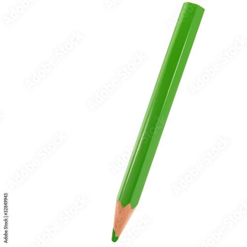 Grüner Stift komplett