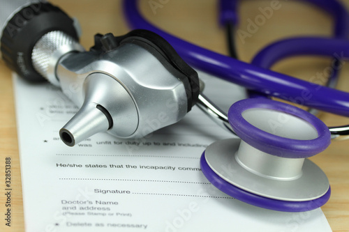 Purple Doctors Stethoscope