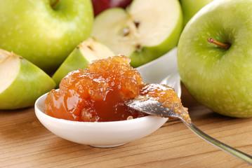 confettura di mele - due
