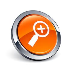 icône bouton internet loupe