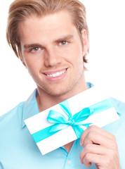 Mann Geschenkgutschein