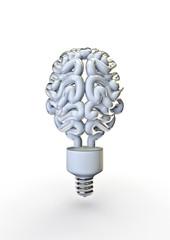 Energy bulb brain