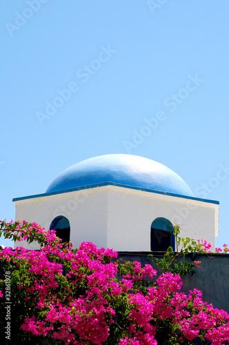 weißes Haus in Griechenland