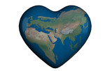 Heart 3D with global map