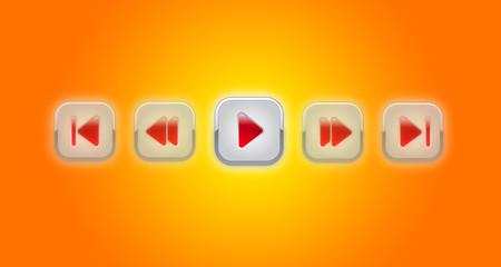 Orange multimedia panel