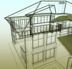 Project of new dwelling-house