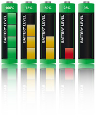 set battery level