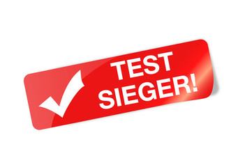 Testsieger Sticker