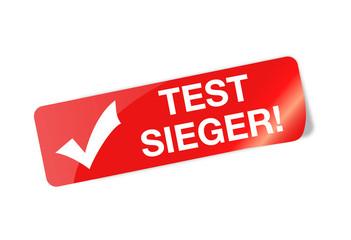 Testsieger Sticker