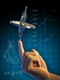 Gyroscope physics poster