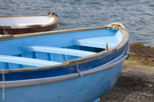 rowboat docked