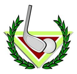 Emblema golf