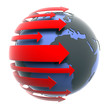 earth with red arrows_b