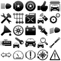 Auto - Werkstatt - Iconset (04)