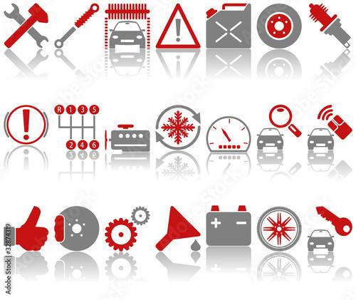 Auto - Werkstatt - Iconset (05)