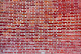 flat red brick wall