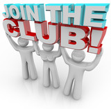 Join the Club - Membership Recruitment Team poster