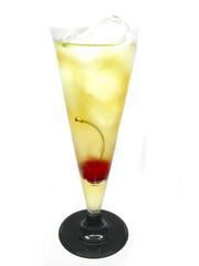 alcohol brandy drink with orange liqueur cocktail