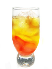 alcohol cocktail with brandy and orange juice