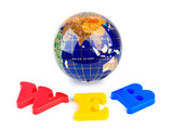 Globe and word WEB