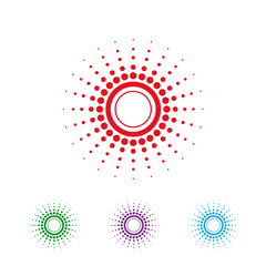 logo vector sun