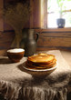 still-life with pancakes