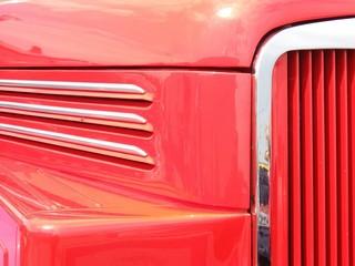 Details eines alten Lkw IFA H6