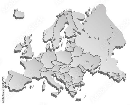 Weltkarte Landkarte Europa Karte 4 3d