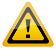 Vector attention exclamation sign
