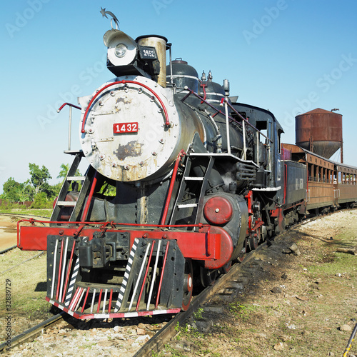 Pociąg turystyczny Dolina Mills, Trinidad, Kuba