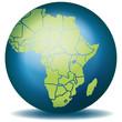 Weltkugel Weltkarte Landkarte Afrika Karte 1