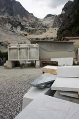 Deposito cava di marmo